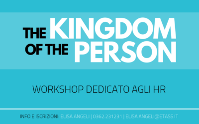 THE KINGDOM OF THE PERSON | LA PERSONA AL CENTRO